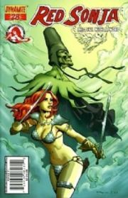 Red Sonja #28 Cover C Homs